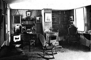 John Greenleaf Whittier's Study c.1892