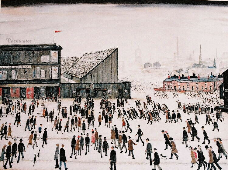 David Hockney and L.S. Lowry: Two northern artists in their time